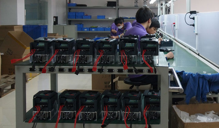 Variable frequency drive manufacturing